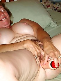 Ripened mature cougars get naked
