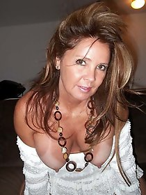 Cock hungry older milf having fun