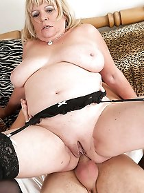 Lascivious mature prostitute was drilled hard
