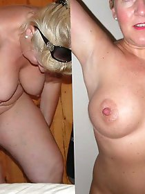 Curvy mature mom showing her skills
